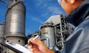Visual inspection of industrial locations: pipes, tanks, welds
